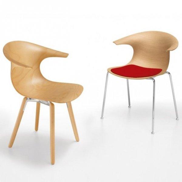 Drewniane krzesło Loop 3d Infiniti