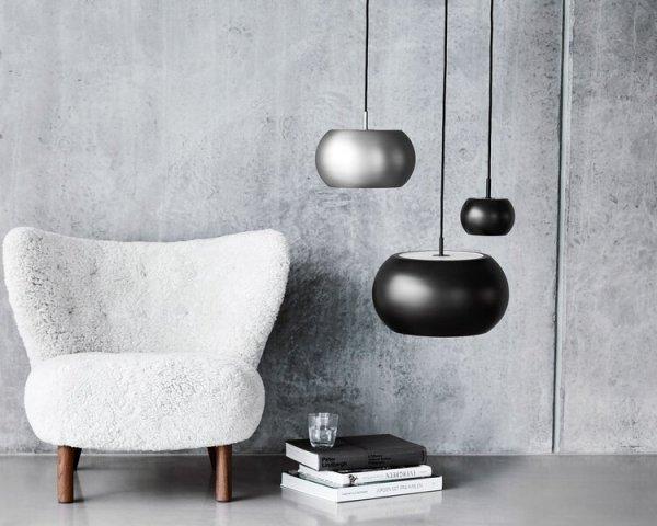Lampa wisząca BF20 Frandsen czarny/mat