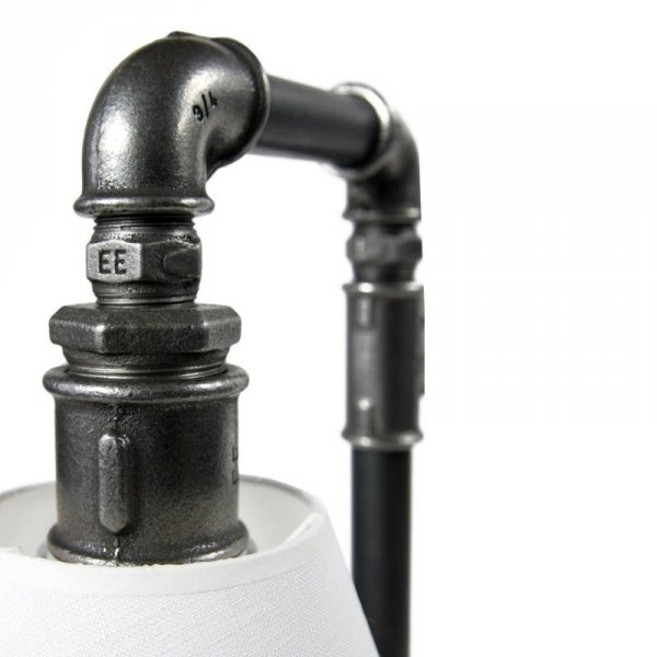 Designerska Lampka Stołowa stalowa LGH0090 Gie El