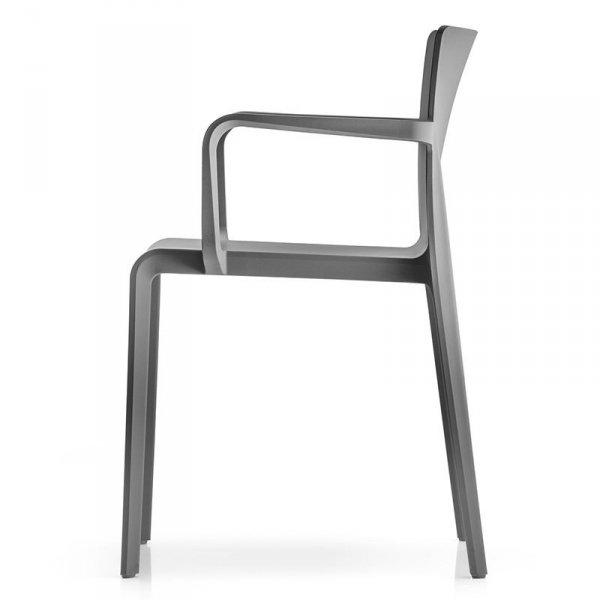Stylowe krzesło Volt 675 o prostej ramie
