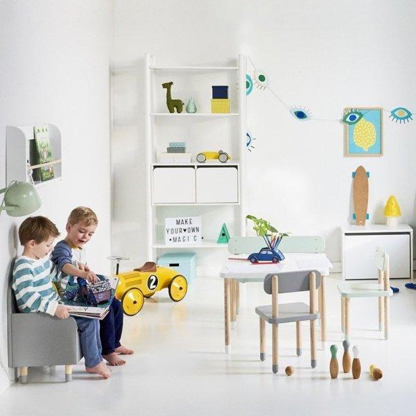 Nowoczesne meble dla najmłodszych dzieci Flexa Play w 4 pięknych kolorach
