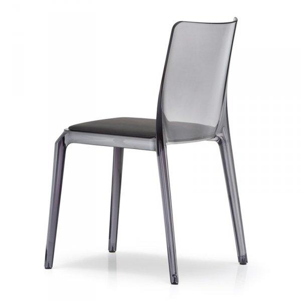 Dizajnerskie krzesła do jadalni z poduszką Pedrali Blitz 640