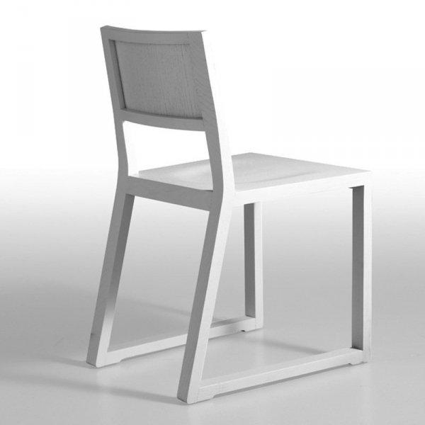 Nowoczesne krzesło drewniane do jadalni Feel 450 Pedrali