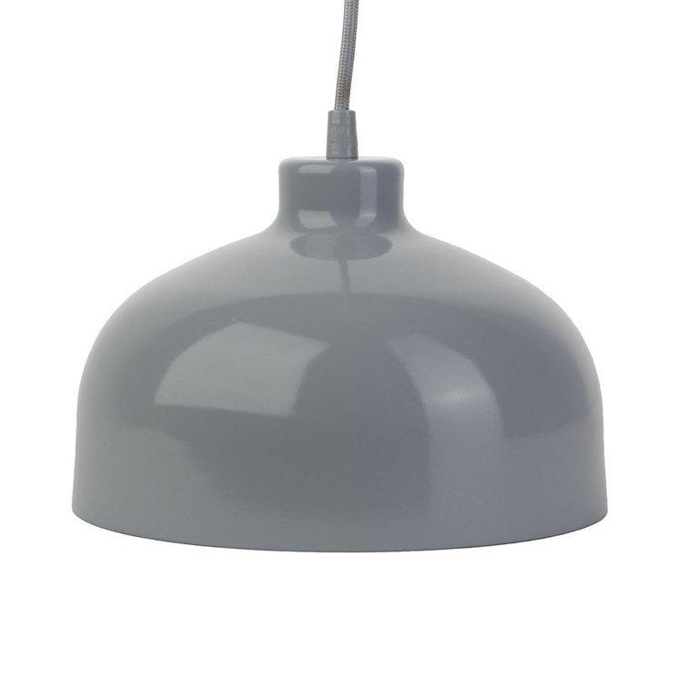 Wspaniały B&B lampa wisząca szary połysk LoftYou HL91