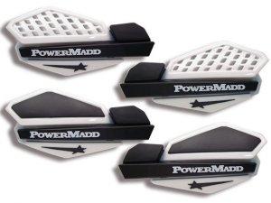 Osłony na dłonie POWER MADD White/Black handguard