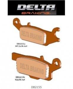Klocki hamulcowe Delta DB 2155 Yamaha Grizzly 550, 700, Raptor 250