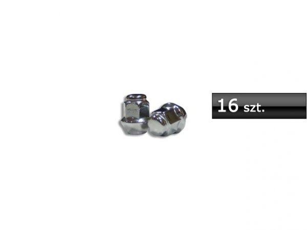 ITP 10mm x 1,25 chrom. stożkowe LUG NUT ALUG14BX 16 sztuk