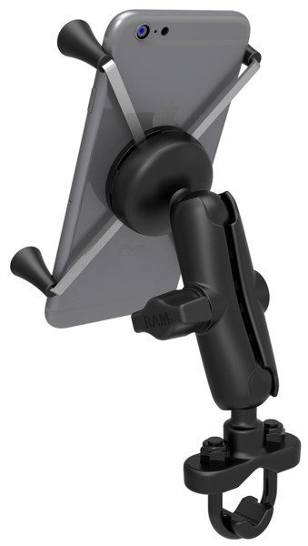 Zestaw montażowy do kierownicy RAM MOUNT z uchwytem X-Grip™ IV przeznaczonym do dużych smartfonów