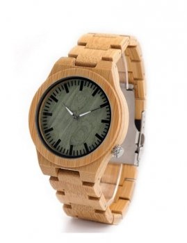 Wooden men`s watch Estilo Sabroso ES03818