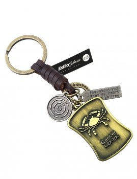 Men`s key ring CANCER Estilo Sabroso Es04401
