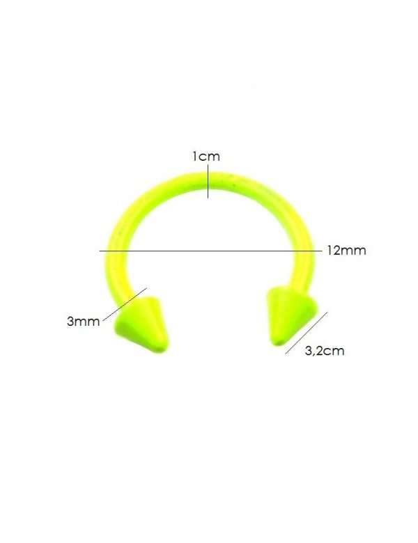 Pánský piercing podkova do ucha Estilo Sabroso Es01631