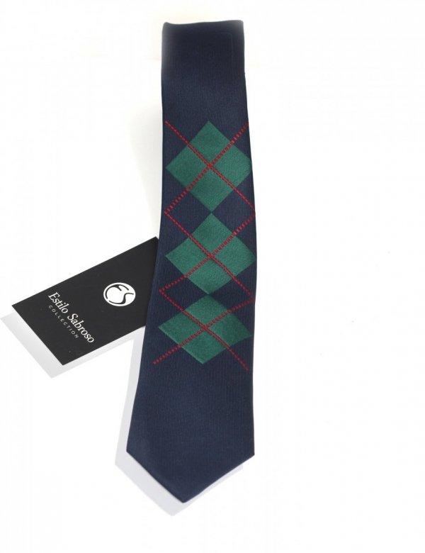 Męski krawat Estilo Sabroso Es02573