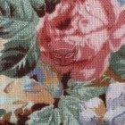 Lniane materiały dekoracyjne SL 29 roses yellow
