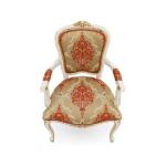 Klasyczne ludwiki krzesło Fiorino