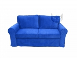 Sofa dwuosobowa turkusowa Marie 186 cm/FS
