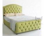 Łóżko pikowane z wysokim wezgłowiem Pirelli 120x200 cm