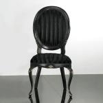 Krzesło z owalnym oparciem Armonia