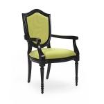Ekskluzywne krzesło z podłokietnikami w stylu włoskim Violino