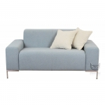 Szara sofa w stylu nowojorskim Phantom
