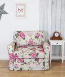 Mała sofa do pokoju dziecka Flower 110 cm/FS