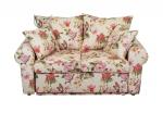 Kwiatowa sofa z funkcją spania Rosaly 146