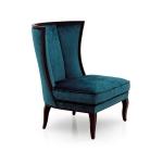 Fotel z wysokim profilowanym oparciem Scalea