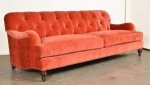 Sofa stylowa pikowane oparcie Duerto