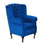 Pikowany stylizowany Fotel Grono