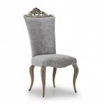Barokowe krzesło do apartamentu Antesia