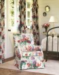 Fotel w kwiaty French