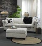 Zestaw sofa 2,5 osobowa Carera i pufa Indonezja