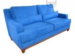 Stylowa sofa w mocnym kolorze Lukrecja 215 cm