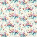 Tkanina kwiaty len SWEET WILLIAMS 224333