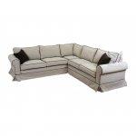 Narożna kanapa symetryczna z pokrowcem 250x250 cm Christine
