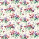 Tkanina kolorowe kwiaty SWEET WILLIAMS 224334