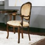 Krzesło w stylu renesansowym Rousseau
