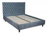 Szerokie łóżko pikowane oparcie Elizabet 180x200 cm