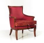 Fotel do stylizacji mieszczańskiej  Alsazia