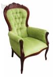 Włoski fotel stylizowany Foglia