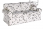 Zdejmowany pokrowiec sofa w stylu skandynawskim Sofa Christine 148 cm