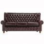 Skóra naturalna sofa Chesterfield Premier