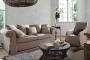 Sofa w stylu skandynawskim ściągany lniany pokrowiec Federica 210 cm