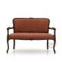 Mała ławka 2 osobowa wygoda w stylu Ludwika XV Altea
