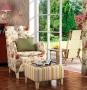 Fotel w stylu prowansalskim Marie stały pokrowiec