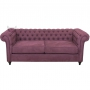 Sofa w stylu Glamour Chesterfield Barcelona