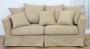 Prosta sofa fartuchowiec w stylu cottage Vivienne 200 cm/FS