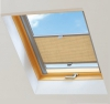 Roleta plisowana do okien dachowych na wymiar