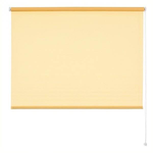 Roleta klasyczna żółta