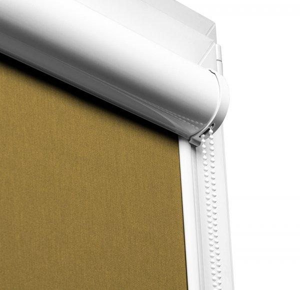 Rolety Vario Lux Large można montować na oknach z płaskimi listwami przyszybowymi.