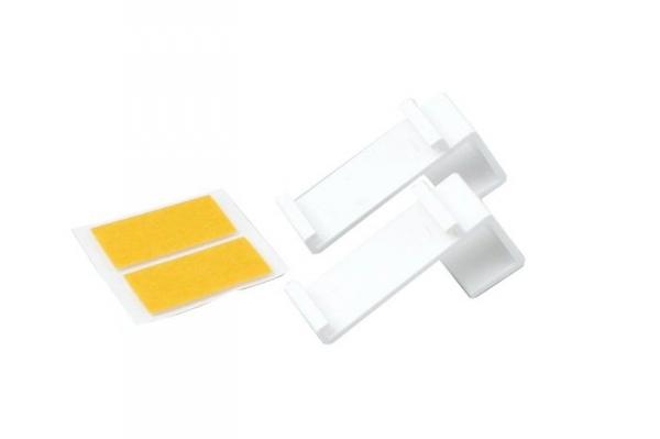 Tworzywowy wieszak do mini rolet - biały